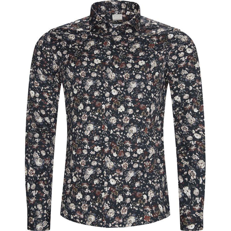 xacus Xacus tailor 13287 748 skjorter navy flower fra axel.dk